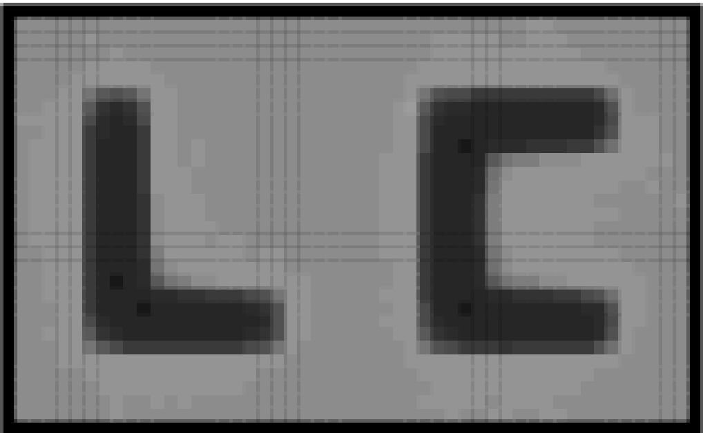 MC simulation of a TN LCD